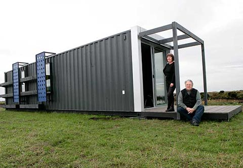 Shipping Containers House shipping container house   miami shipping container building