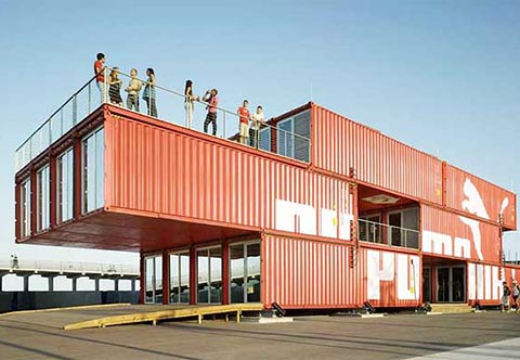 Modular Container Homes shipping container house | miami shipping container building